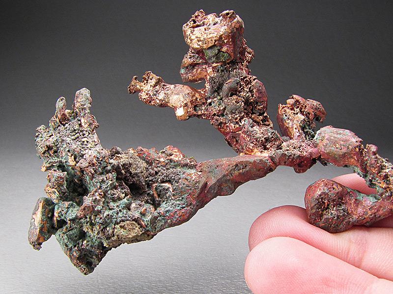 native copper crystals  kearsarge  michigan